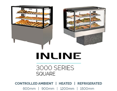 food display refrigerated inline 3000 Square