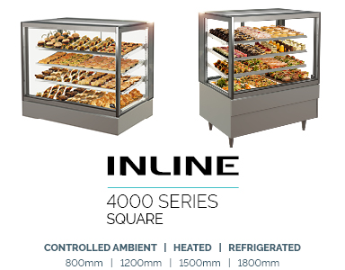food display refrigerated inline 4000 Square