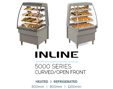 food display refrigerated inline 5000 Square